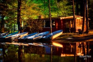 Long Exposure Cabin