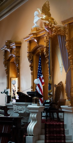 Ohio Statehouse Senate Chamber