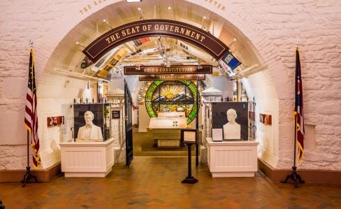 Museum Display Ohio Statehouse