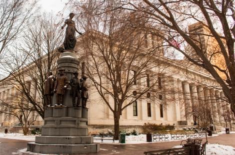 Ohio Statehouse Statue