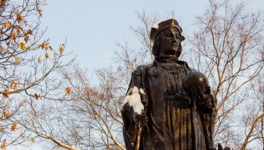Statue of Christopher Columbus Ohio Statehouse Columbus Ohio
