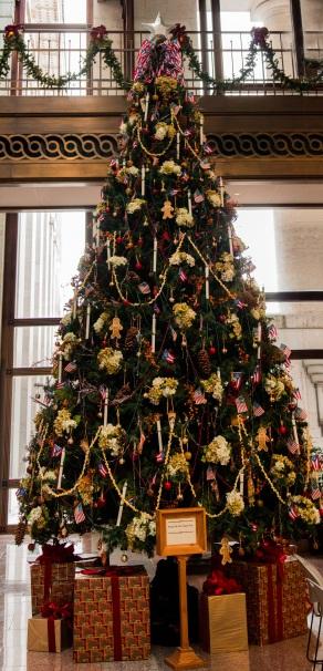 Ohio Statehouse Christmas Tree