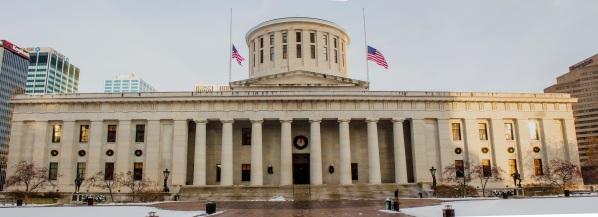 Panorama of Ohio Statehouse