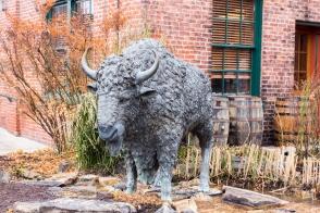 Buffalo Trace Distillery Statue