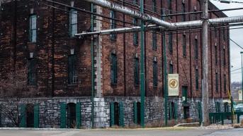 Aging Warehouse Buffalo Trace Distillery