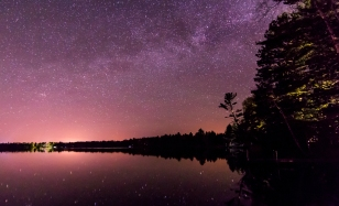 Long Exposure Stars - Northern WI