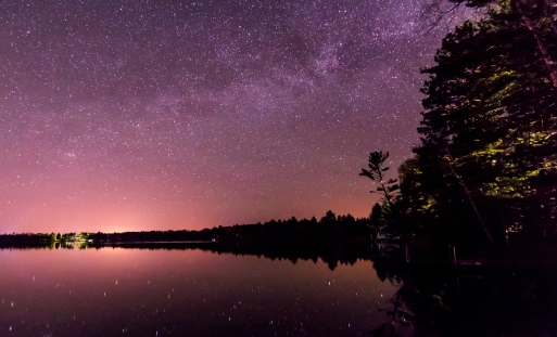 Long Exposure Stars - Northern WI