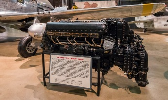 Packard Merlin engine used in the P51 Mustang