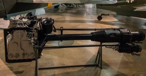Messerschmitt Me 163 Komet rocket engine.