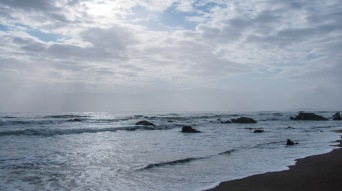 Pacific Ocean California Coast