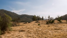 California Hills in Drought