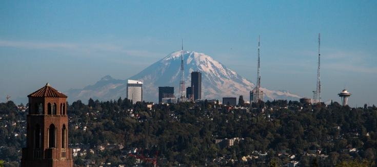 Mount Rainier From Ballard