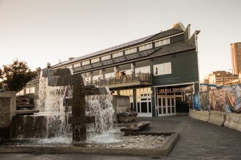 Seattle Aquarium at Sunset