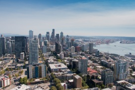 Seattle Skyine and Sound